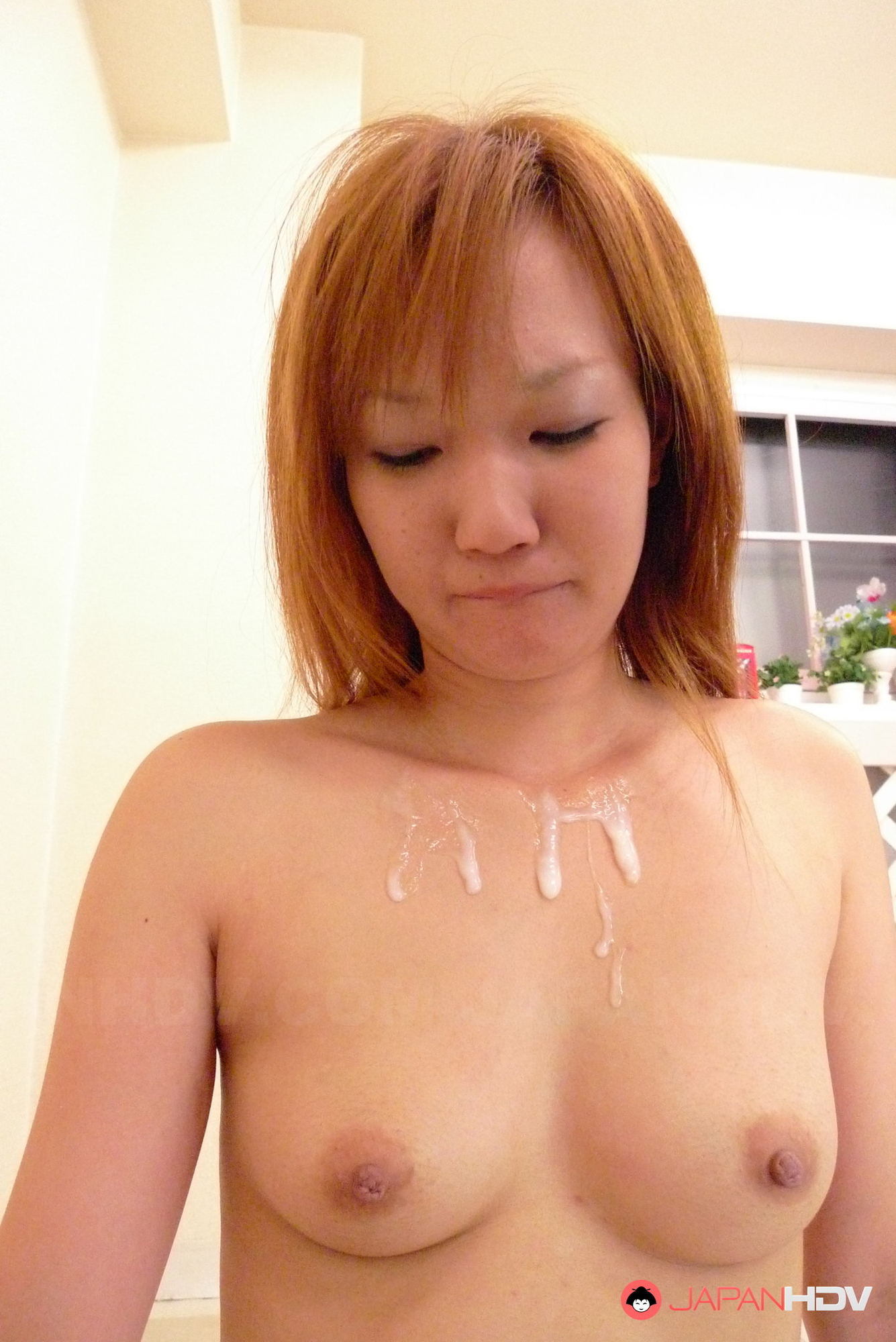 Japanese slut sucks and fucks two men 10