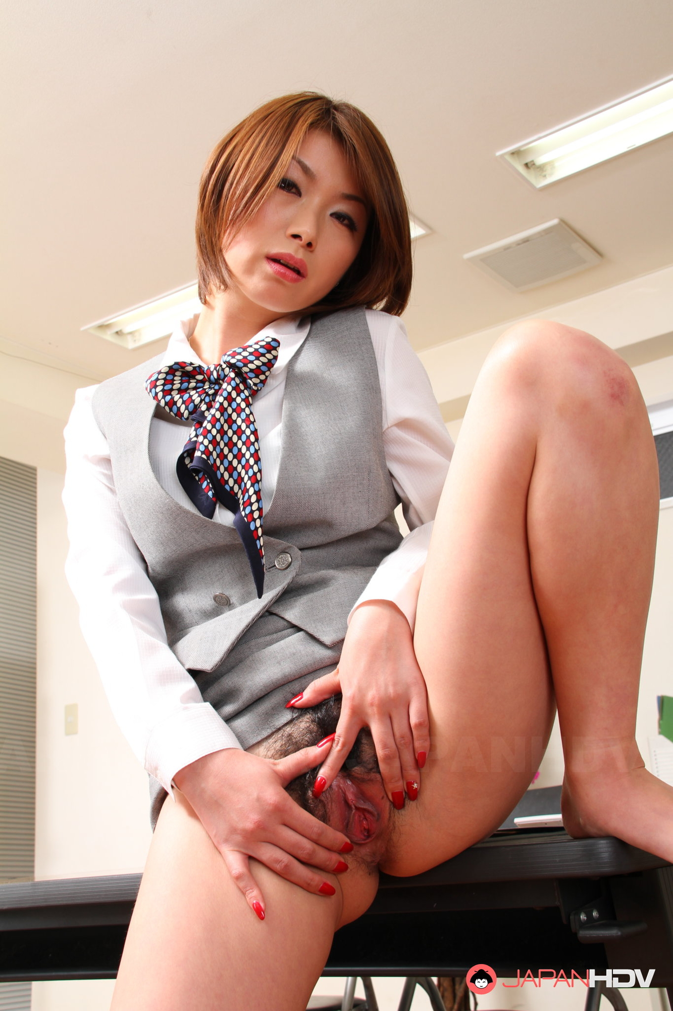 Teacher japan show pussy for
