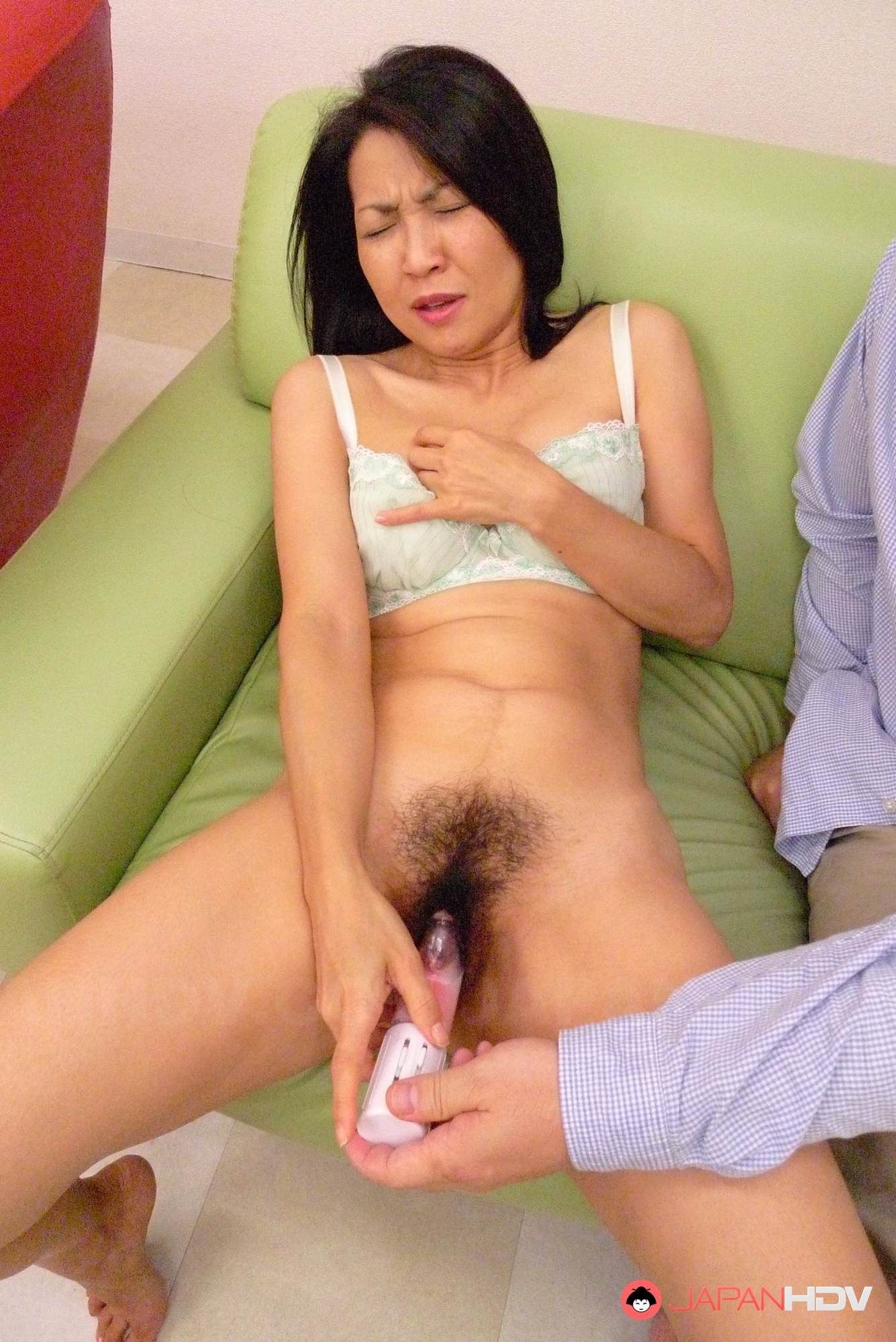 Japan boobs pussy massage