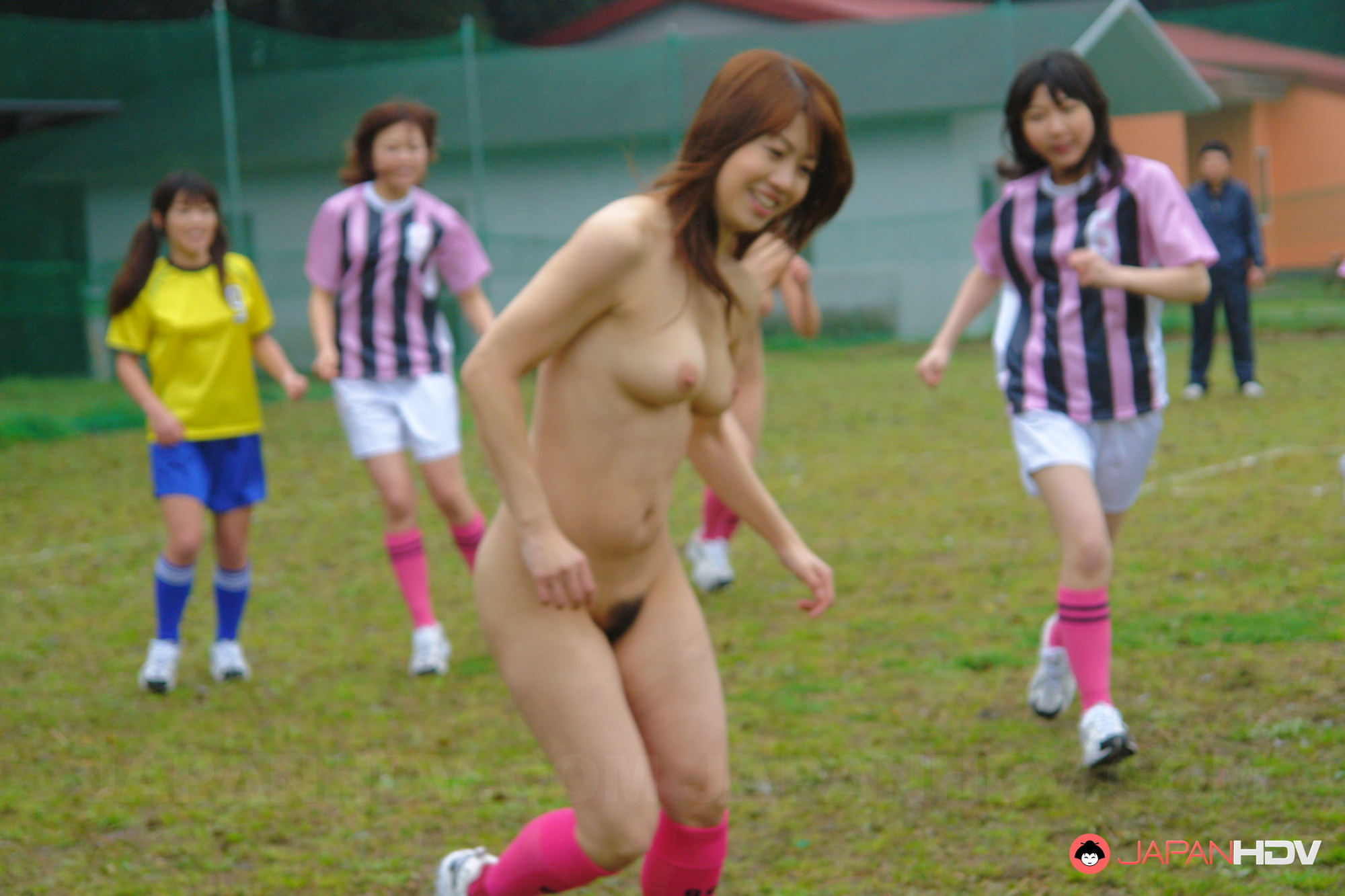 Teen Nude Playing Soccer