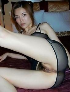 Women chinese pucking nude black